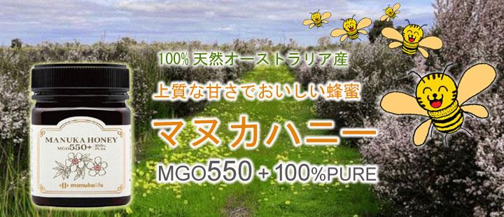 マヌカハニー MGO550